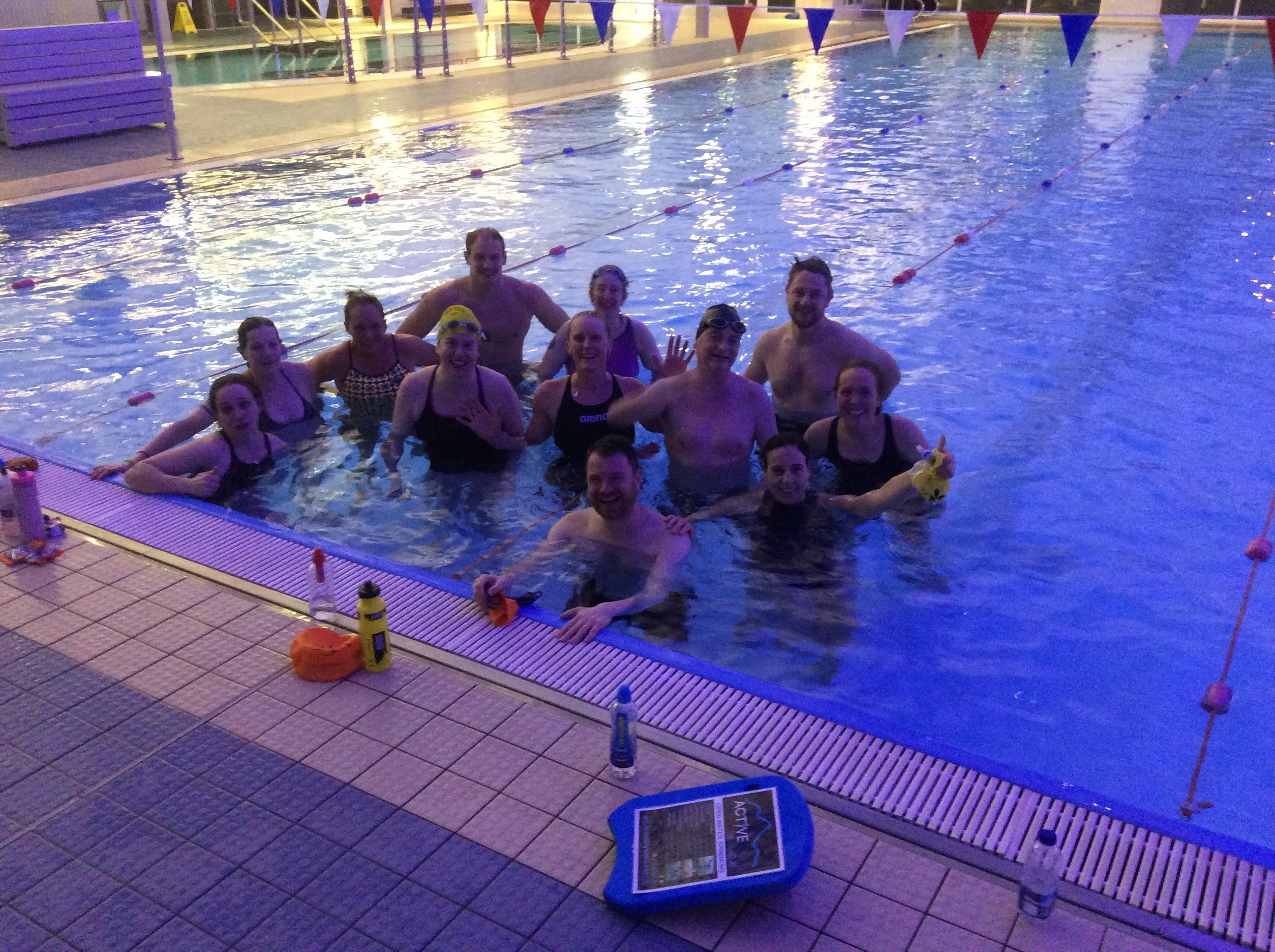 12 Hour Swim Success And A New Year Active Blu Swimming Cumbria Swimming Coaching Cumbria